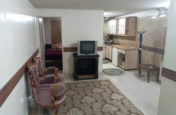 اجاره سوِئیت یک خوابه در تهران
