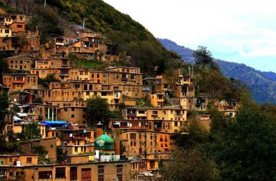 معرفی ۱۵ روستای پلکانی ایران